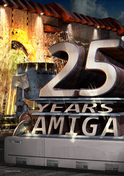 Amiga Poster 25 Years