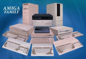 Amiga Family Sticker