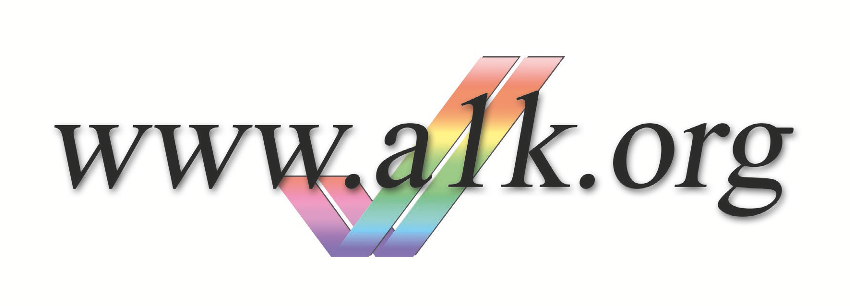 A1k Logo Sticker