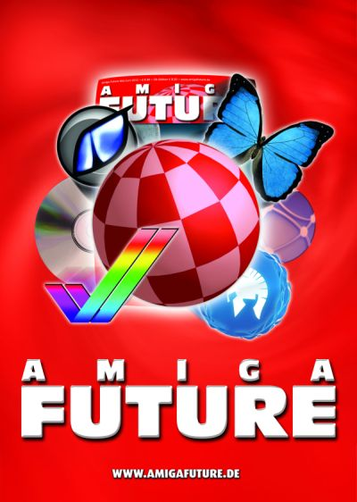 Amiga Future Issue 100 Poster