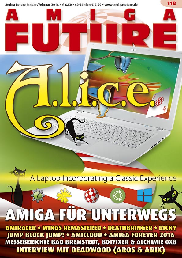 Amiga Future Issue 118