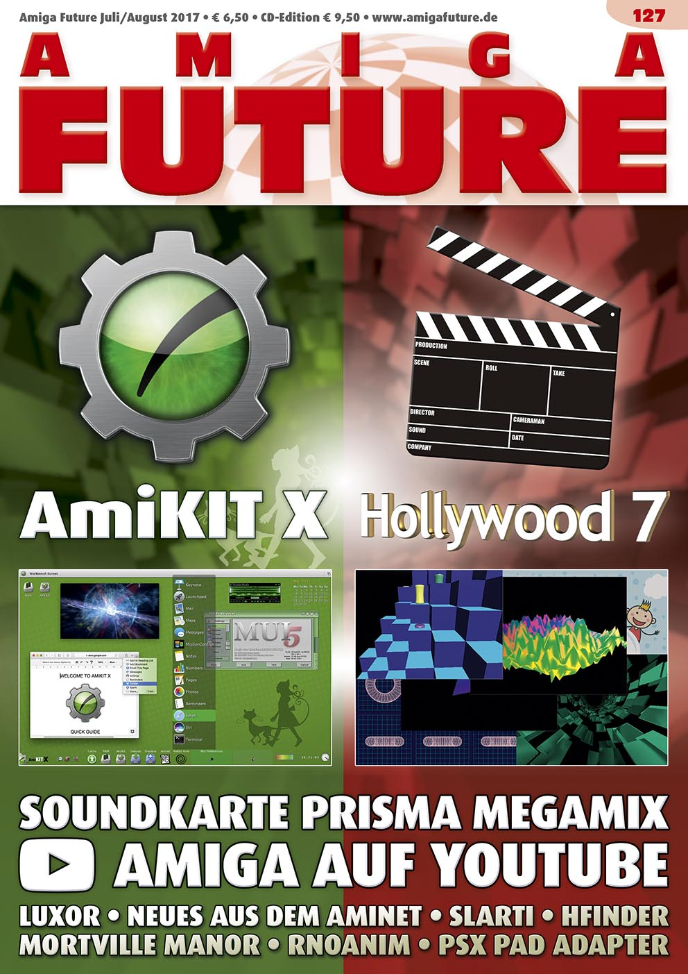 1 Year Subscription from Amiga Future Issue 127
