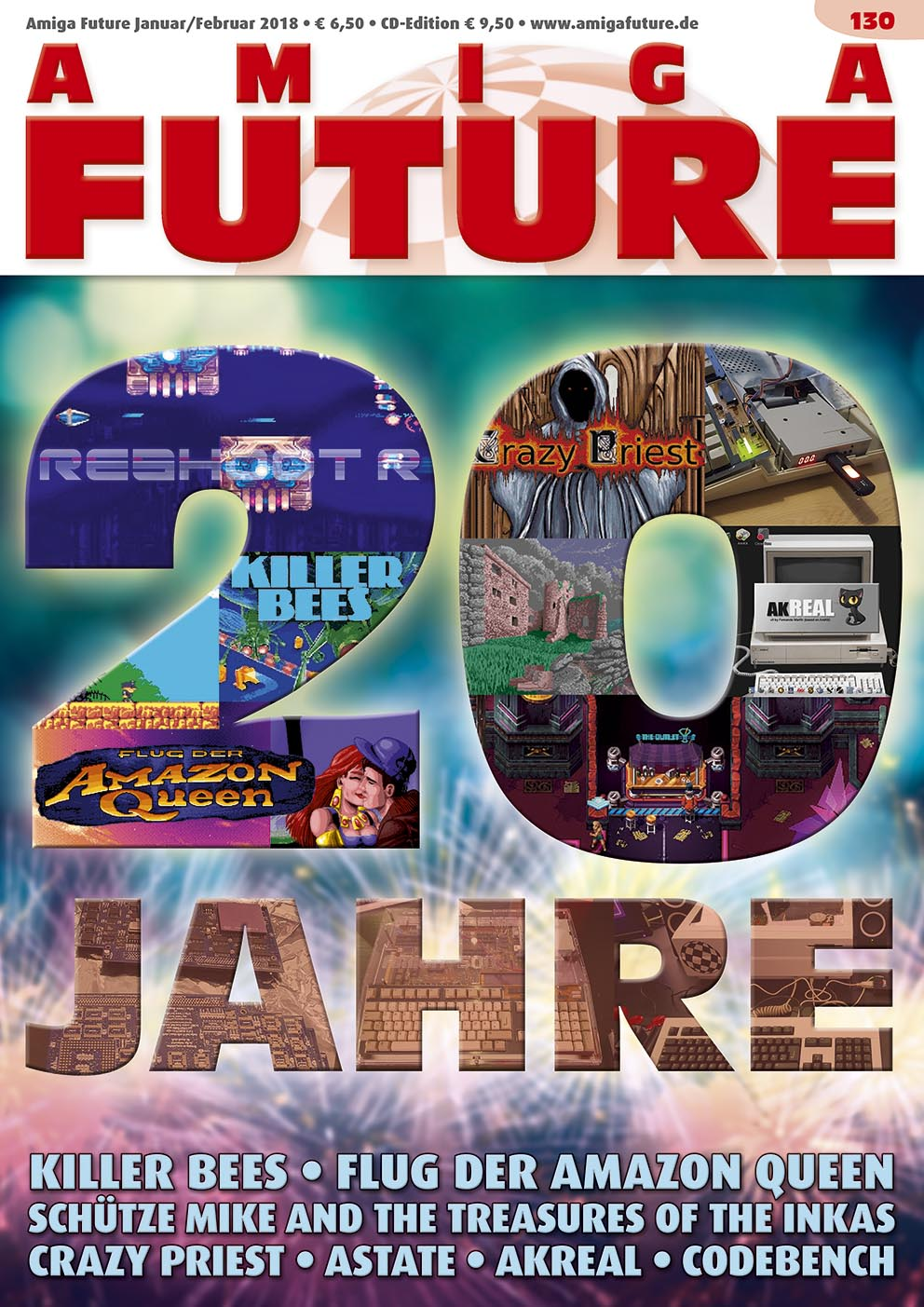 1 Year Subscription from Amiga Future Issue 130