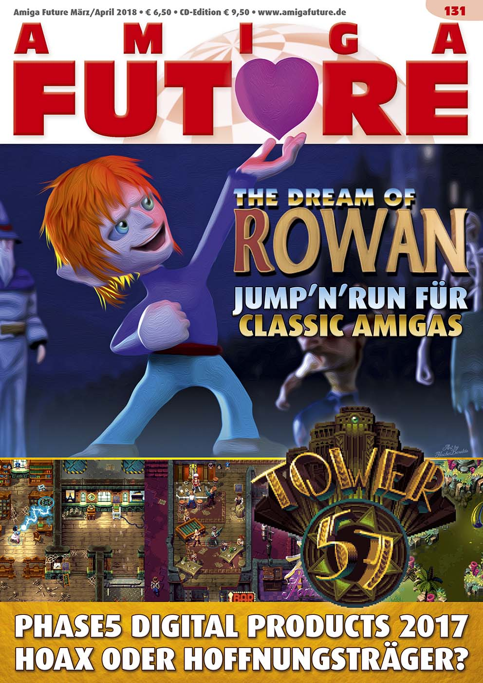 1 Year Subscription from Amiga Future Issue 131
