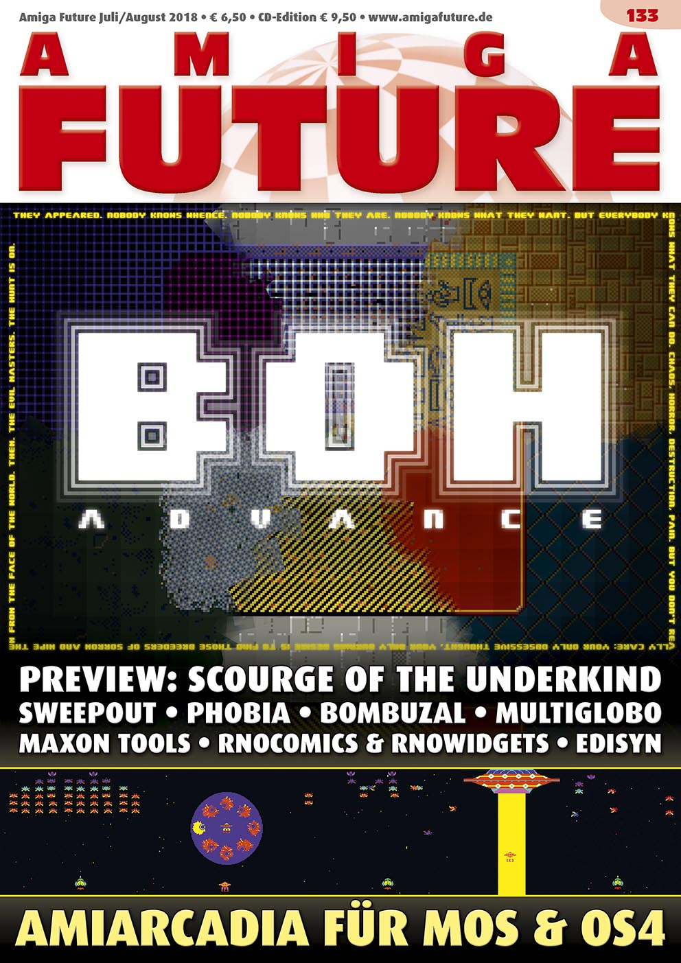 1 Year Subscription from Amiga Future Issue 133