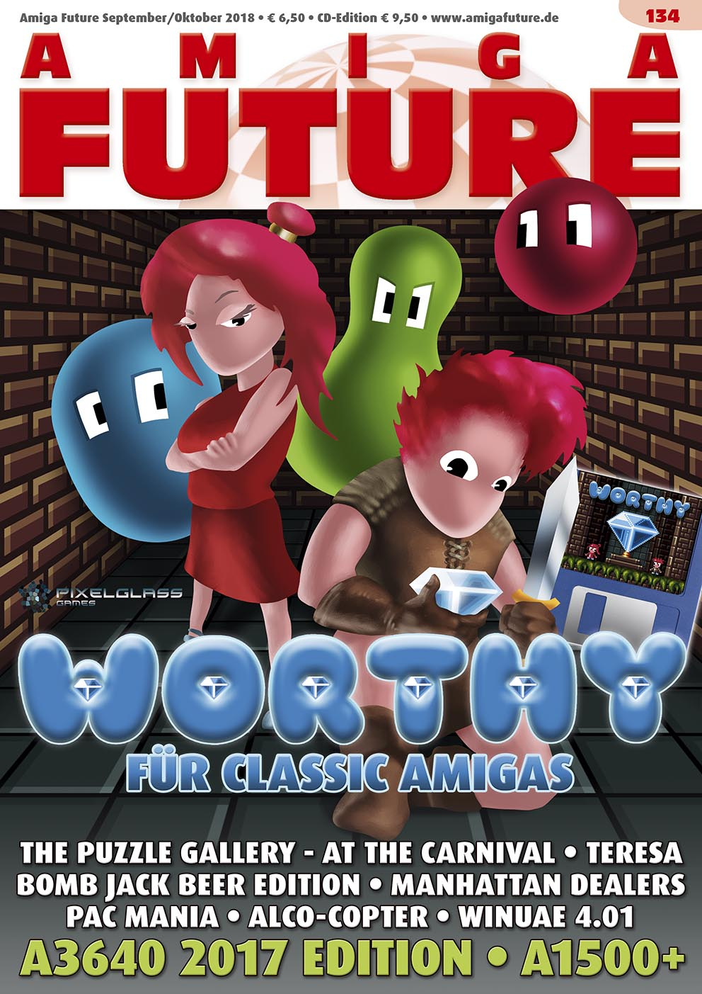 1 Year Subscription from Amiga Future Issue 134