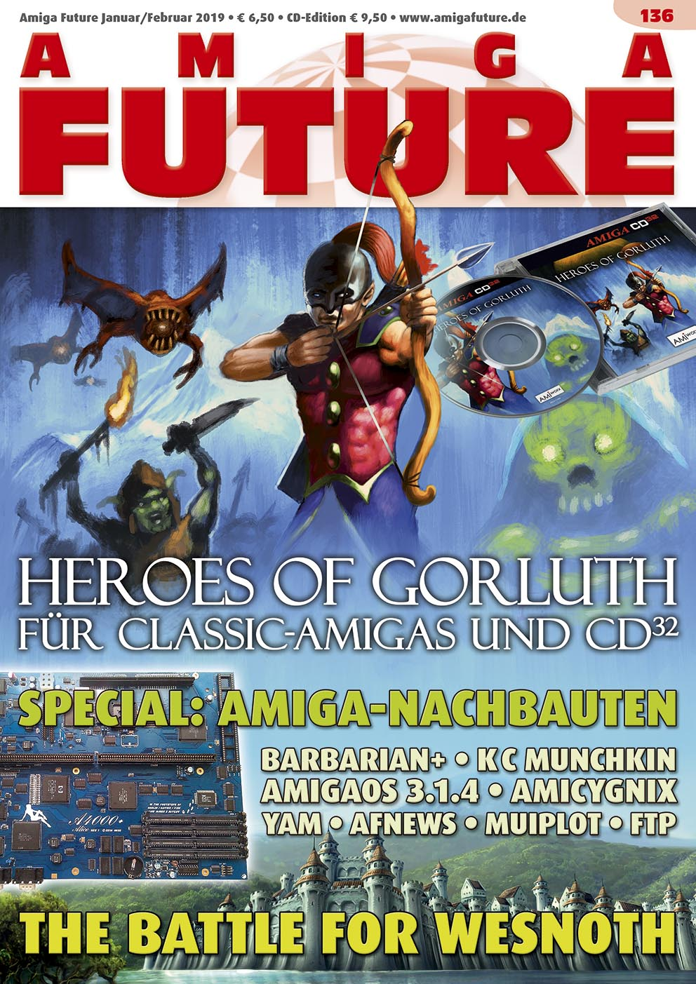 1 Year Subscription from Amiga Future Issue 136