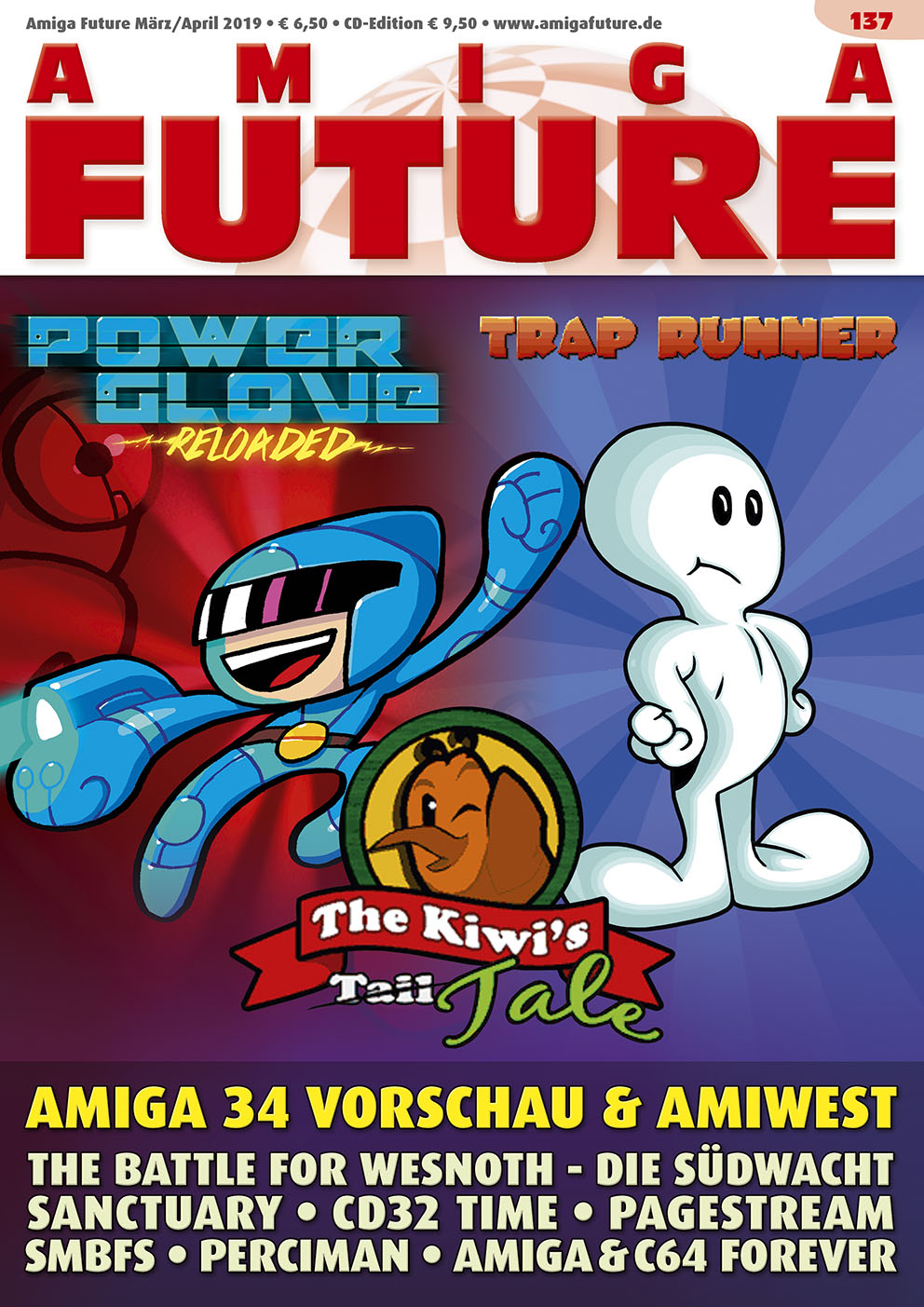 1 Year Subscription from Amiga Future Issue 137