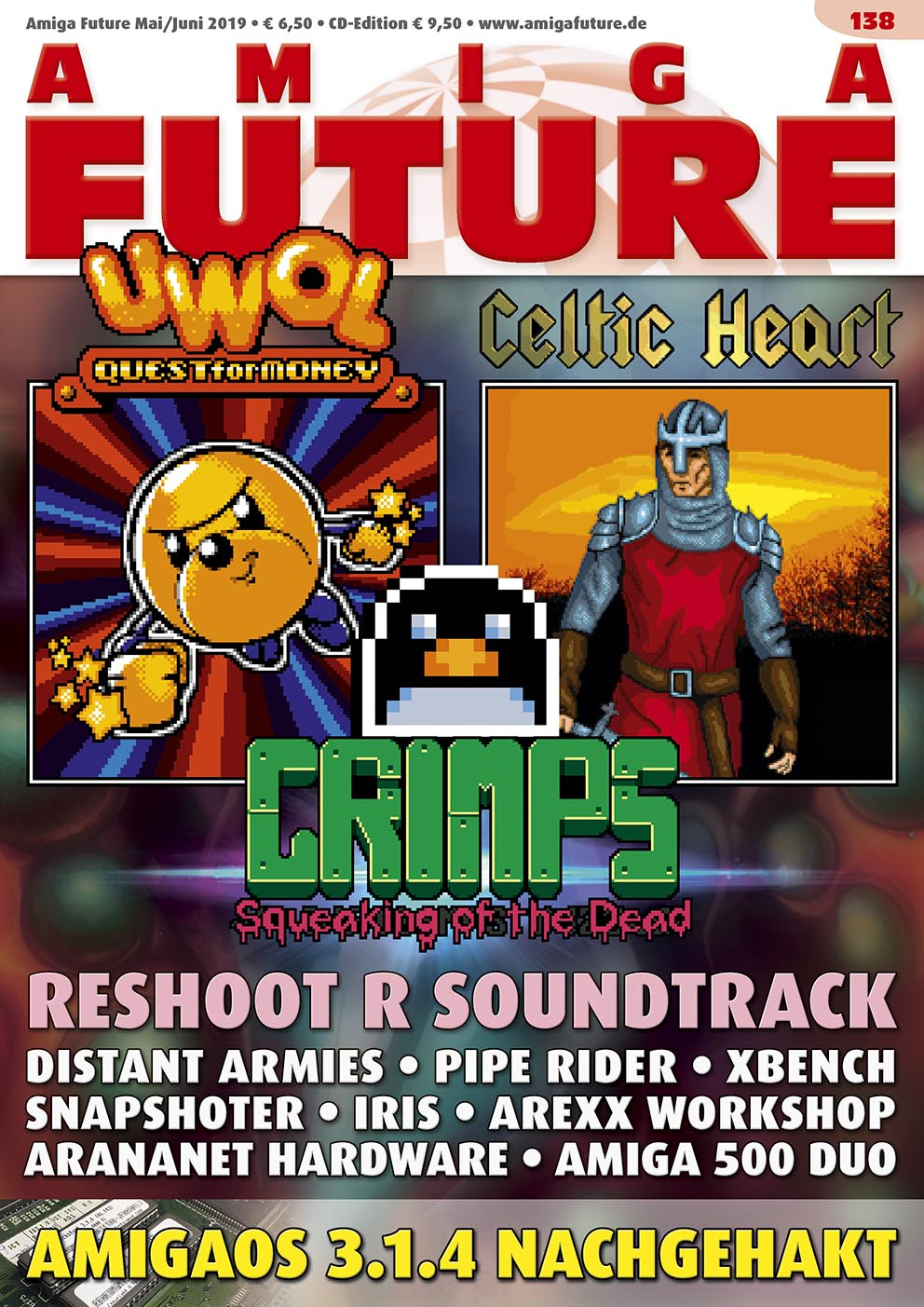 1 Year Subscription from Amiga Future Issue 138