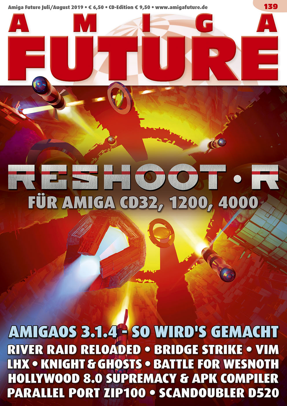 1 Year Subscription from Amiga Future Issue 139