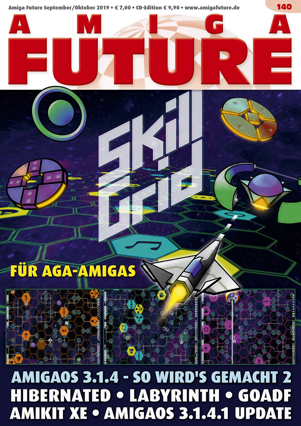1 Year Subscription from Amiga Future Issue 140
