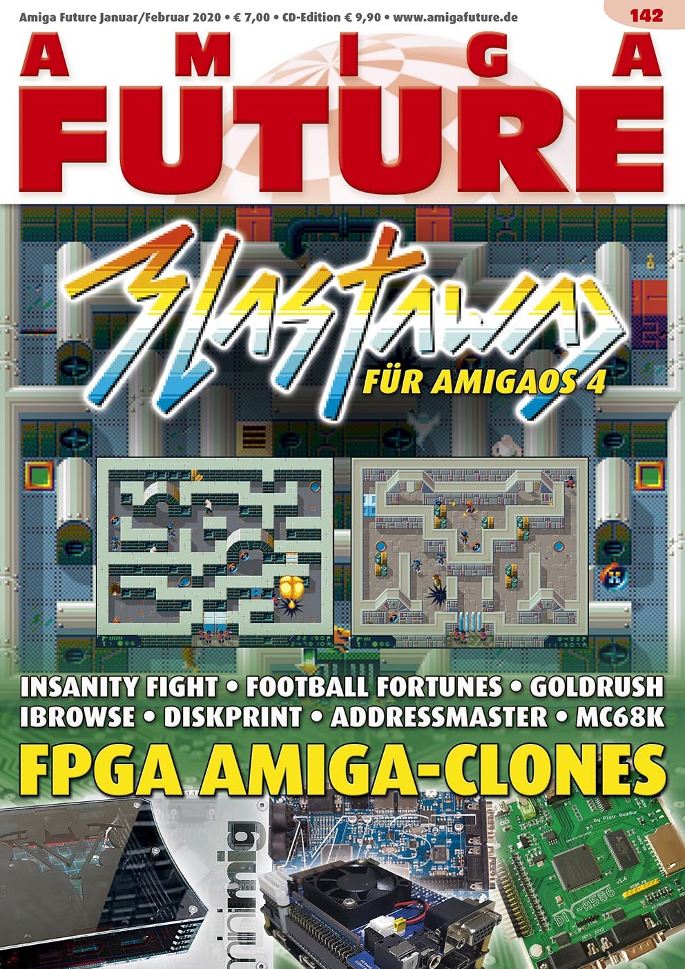 1 Year Subscription from Amiga Future Issue 142