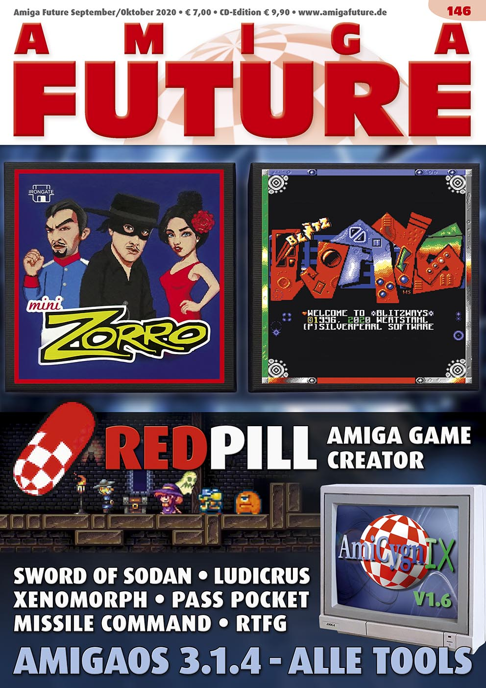 1 Year Subscription from Amiga Future Issue 146