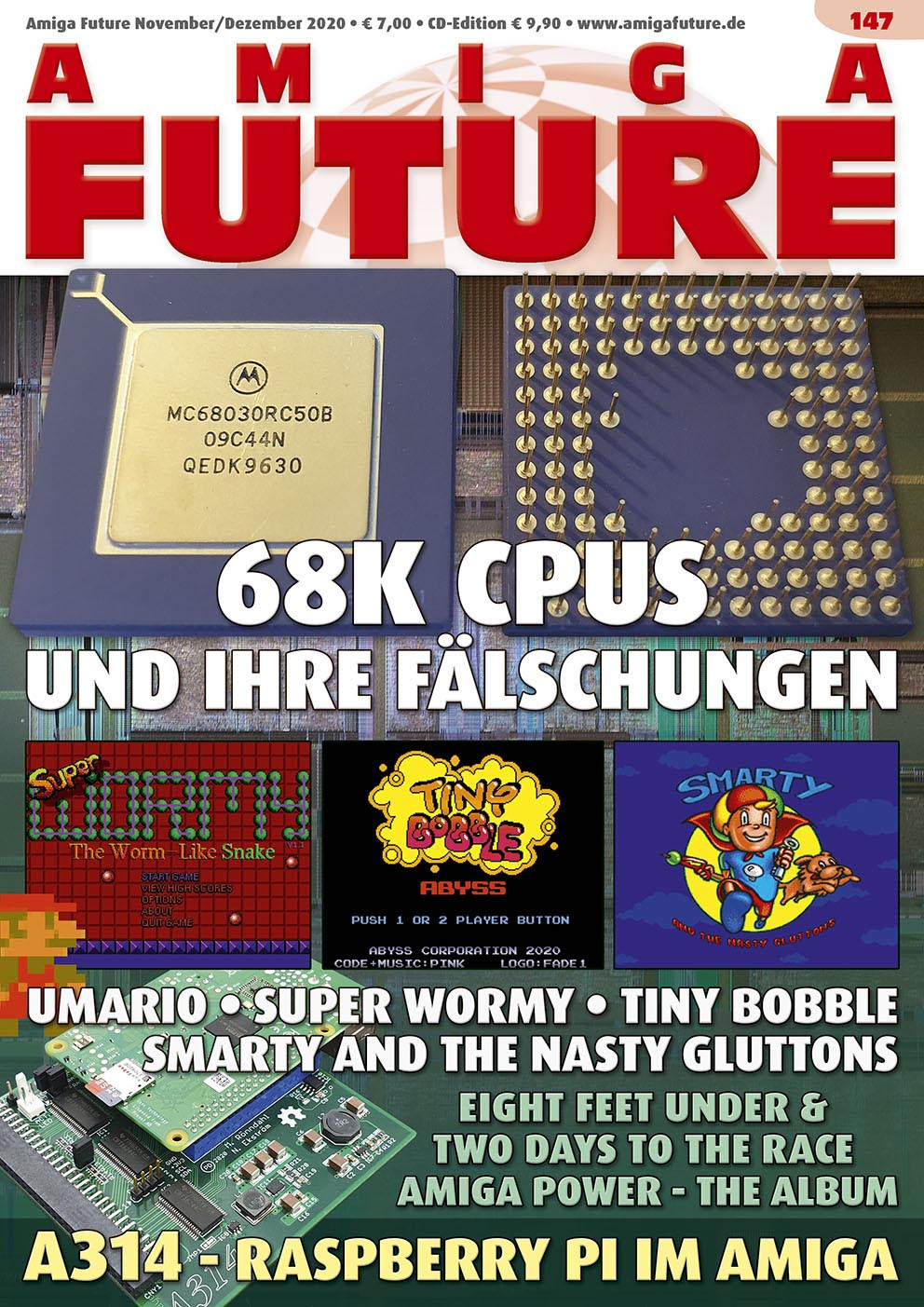 1 Year Subscription from Amiga Future Issue 147