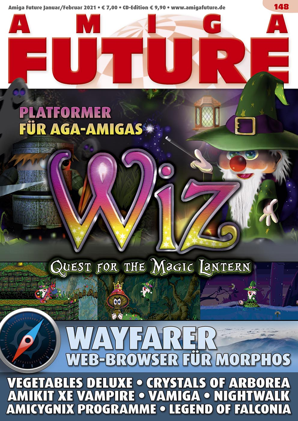 1 Year Subscription from Amiga Future Issue 148