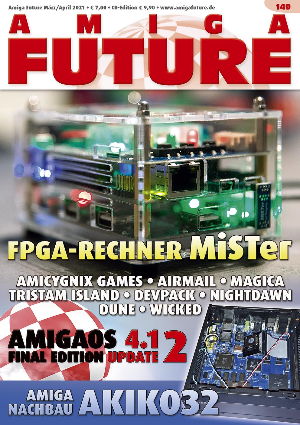 1 Year Subscription from Amiga Future Issue 149