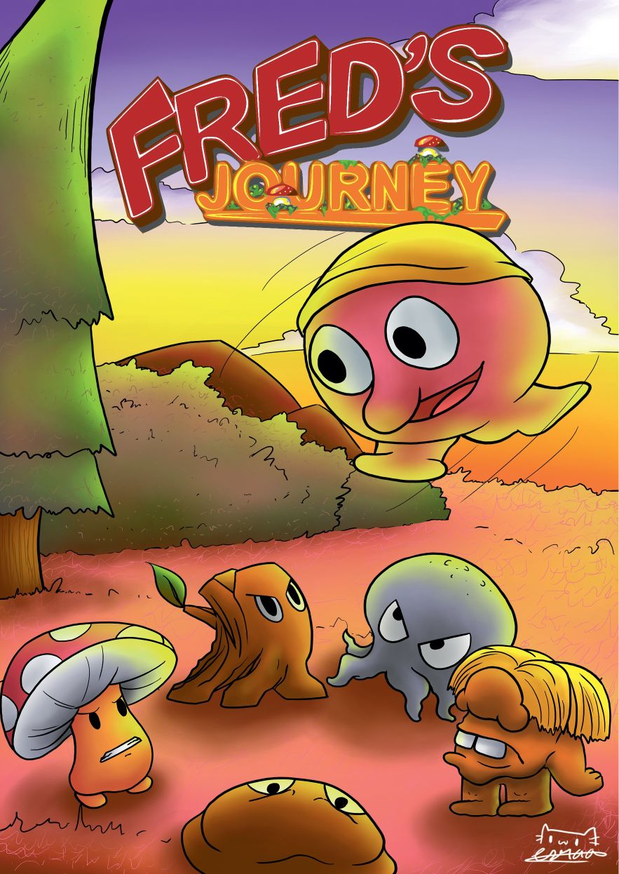 Freds Journey Boxed Version